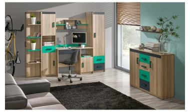 kids-and-teens-wall-units - Oliver III - 1