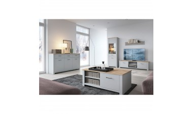 solid-furniture - Gray GWT65 Cabinet - 2
