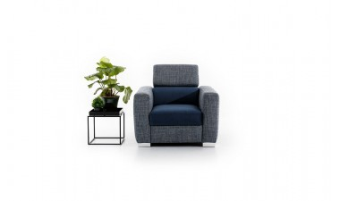 upholstered-furniture - Vena Armchair - 2
