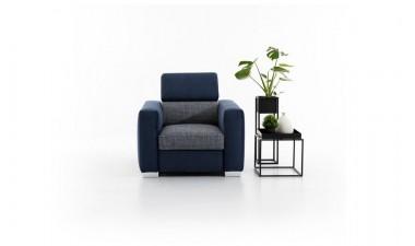 upholstered-furniture - Vena Armchair - 3