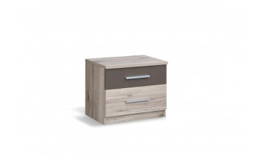 chest-of-drawers - Malmo - bedside table - 1