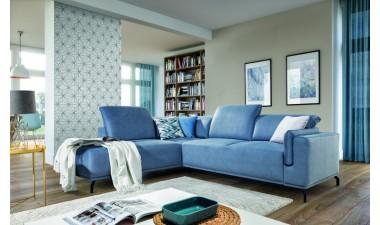 furniture-shop - GUSTO left side Velvet S43 dark green - 1