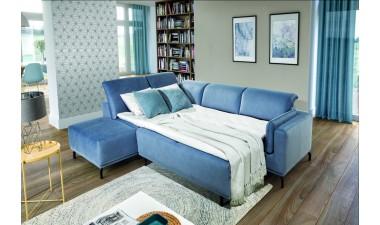 furniture-shop - GUSTO left side Velvet S43 dark green - 2