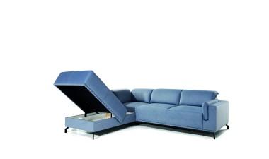 furniture-shop - GUSTO left side Velvet S43 dark green - 3