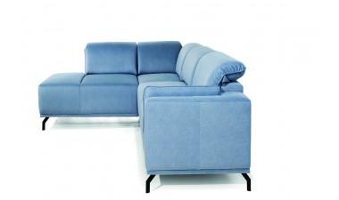 furniture-shop - GUSTO left side Velvet S43 dark green - 6