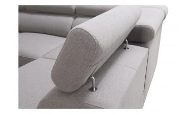 corner-sofa-beds - Veneto X Malia Pacific/Calgary Cool White - 4