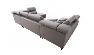 corner-sofa-beds - Veneto X Malia Pacific/Calgary Cool White - 5