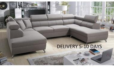 corner-sofa-beds - Veneto X Malia Pacific/Calgary Cool White - 11