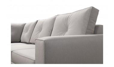 corner-sofa-beds - ADONIS III left side all in Graceland Cream - 4
