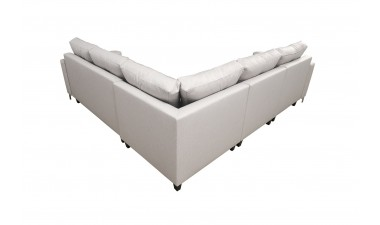 corner-sofa-beds - ADONIS III left side all in Graceland Cream - 7