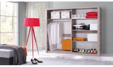 wardrobes - Gloria II 180 Gloss Front - 2