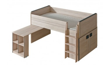 kids-and-teens-beds - Kama G15 Bed/Desk - 1