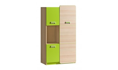 kids-and-teens-wardrobes - Hugo L5 Cabinet - 1