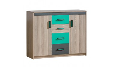 kids-and-teens-chest-of-drawers - Oliver U11 Sideboard - 1