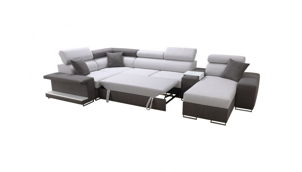 New Corner Sofa Bed Vector 5 With Storage Left Or Right Hand Ebay