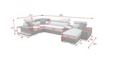 corner-sofa-beds - Vector V - 11