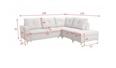 corner-sofa-beds - ADONIS II - 4