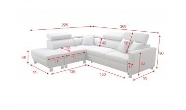 corner-sofa-beds - LORETTO III - 5