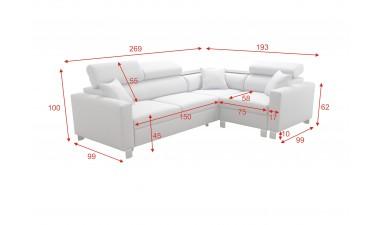 corner-sofa-beds - LORETTO II - 9