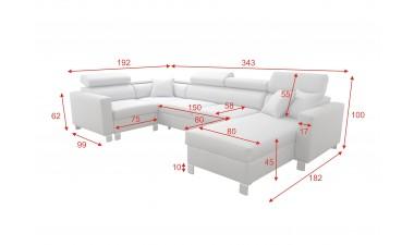 corner-sofa-beds - LORETTO V - 3