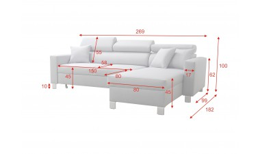 corner-sofa-beds - LORETTO I - 4