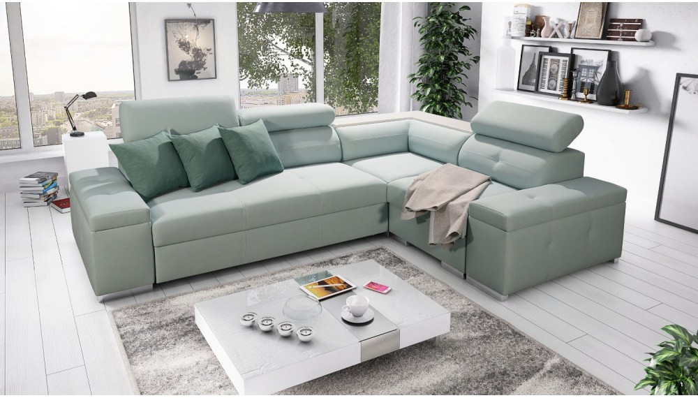 Oliver Mini Corner Sofa Bed Price