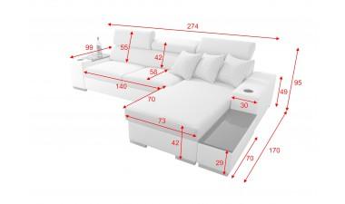 corner-sofa-beds - PERSEO I MINI - 4