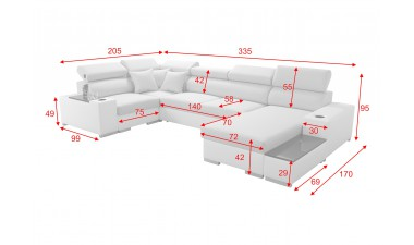 corner-sofa-beds - PERSEO IV MINI - 2
