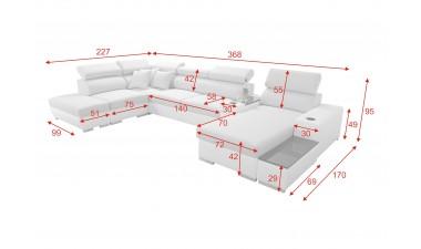 corner-sofa-beds - PERSEO V - 1