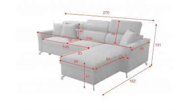 corner-sofa-beds - VENETO I - 4
