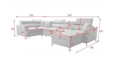 corner-sofa-beds - VENETO V - 4