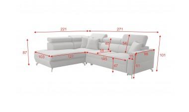 corner-sofa-beds - Veneto III - 3