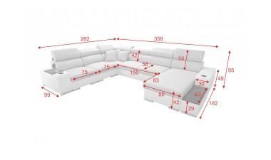corner-sofa-beds - PERSEO VIII - 3