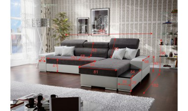 corner-sofa-beds - Silver - 3