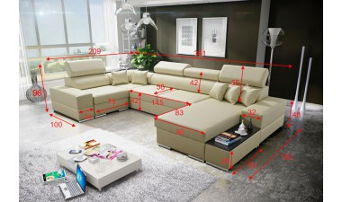 corner-sofa-beds - Hercules