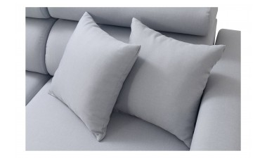 quick-delivery - LORETTO I White Ecoleather - 5