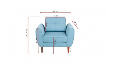 fotele - Sandy Armchair - 5