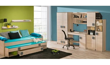 kids-and-teens-wall-units - Kama 1 - 1