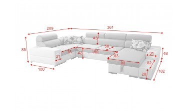 u-shaped-corner-sofa-beds - Alberto - 2