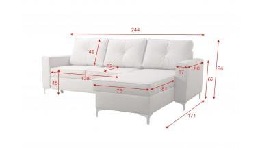 corner-sofa-beds - ADONIS I left side - 2