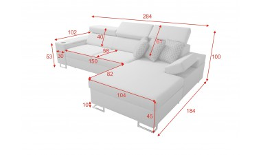 corner-sofa-beds - Salvato I maxi Right Corner - 4