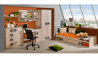 kids-and-teens-wall-units - Kama 4 - 1