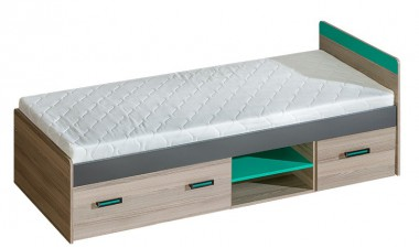 kids-and-teens-beds - U7 Bed with Storages - 1