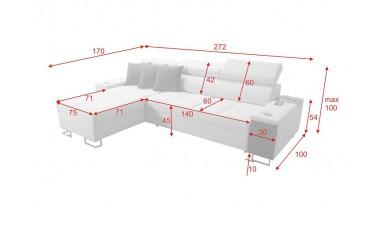 corner-sofa-beds - Morena I Mini - 2