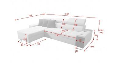 corner-sofa-beds - Morena I Maxi - 9
