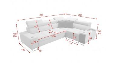 corner-sofa-beds - Morena II - 2