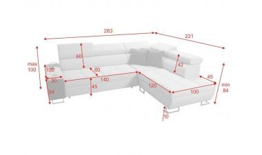 corner-sofa-beds - Morena VII - 2