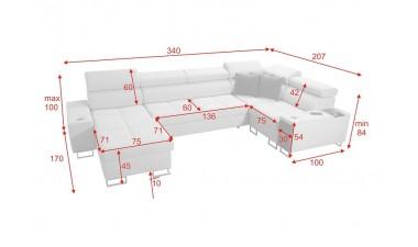 corner-sofa-beds - Morena IV Mini - 2