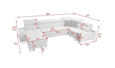 corner-sofa-beds - Morena IV Maxi - 11