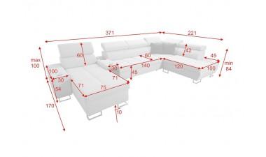 corner-sofa-beds - Morena V - 2